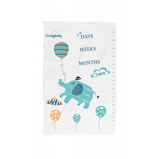 Khăn tắm trẻ em siêu mềm Comfybaby hình con voi