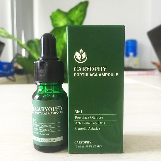Serum ngừa mụn Caryophy Portulaca Ampoule (10ml)