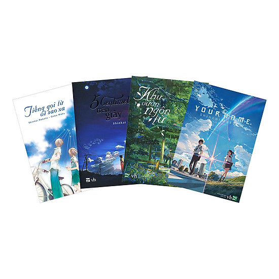 Combo Tác Giả Shinkai Makoto (4 Cuốn)