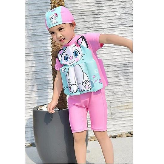 Hình đại diện sản phẩm Aó bơi phao cho bé gái AB50640-BGK