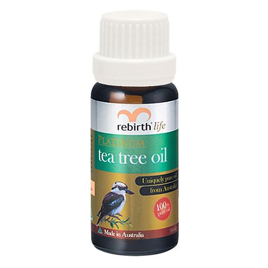 Tinh dầu trị mụn tràm trà Rebirth Life Platium Tea Tree Oil 10ml RL23