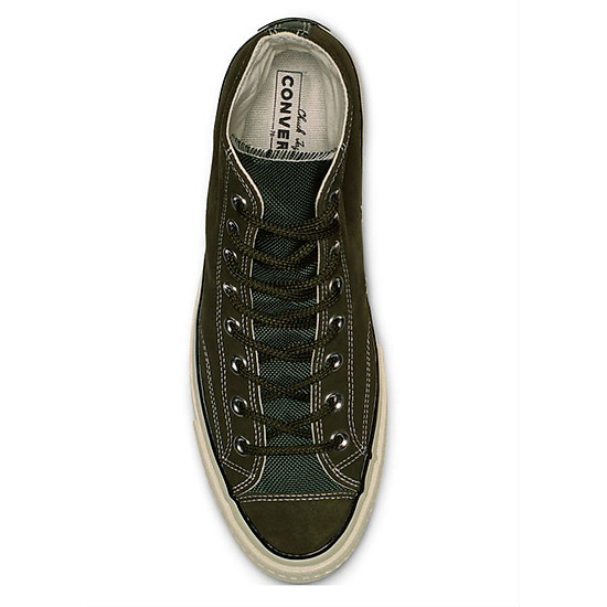 2e1c8f847b8 Giày Sneaker Unisex Converse Chuck Taylor All Star 1970s Base Camp Suede  Utility Green Hi Top  chất lượng cao