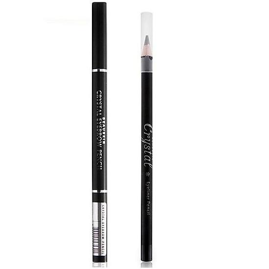 Hình đại diện sản phẩm Combo 1 chì kẻ mắt màu đen tự nhiên Beauskin Hàn quốc + 1 chì kẻ lông mày Beauskin Hàn quốc (NHIỀU MÀU)