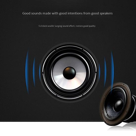 Loa bluetooth không dây mini LANITH bass mạnh Boombass L15 - Tặng cáp sạc 3 đầu – Thiết kế nhỏ gọn, thời trang – Kết nối không dây bluetooth, kết nối USB, thẻ nhớ - LB000015.CAP0001 - Đen-10