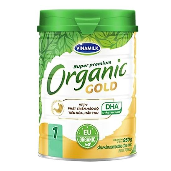Sữa Bột Vinamilk Organic Gold Step 1 (850g / Hộp Thiếc)