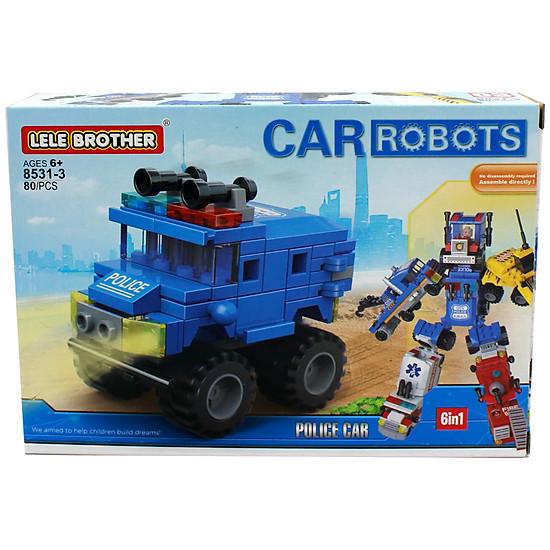 Đồ chơi lắp ráp Xe kéo Tow Truck Lele Brother (8531-3)