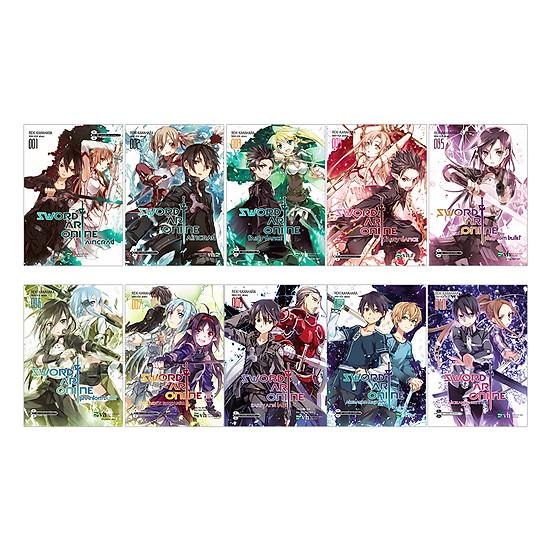 Combo Sword Art Online (Trọn Bộ 10 Tập)