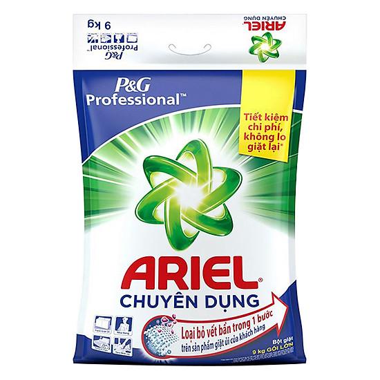 Bột Giặt Tide Ariel Sạch Nhanh VSS Túi 9Kg