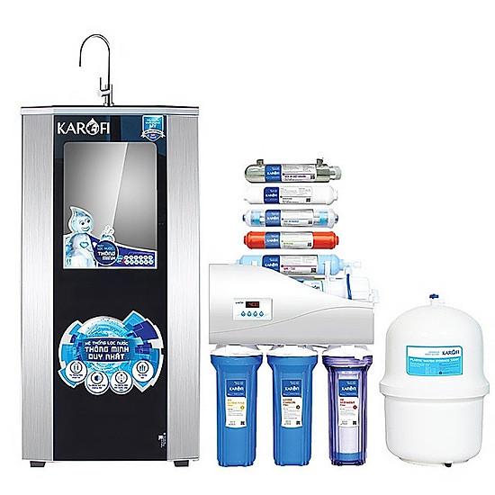 Máy lọc nước Karofi 9 cấp K9I-1 có đèn UV, tủ IQ