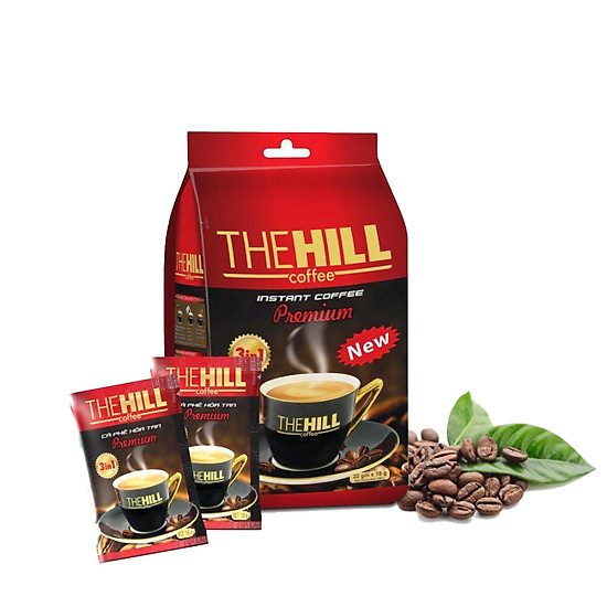 Cà Phê Hòa Tan The Hill Coffee Premium - HT-PE (396g)
