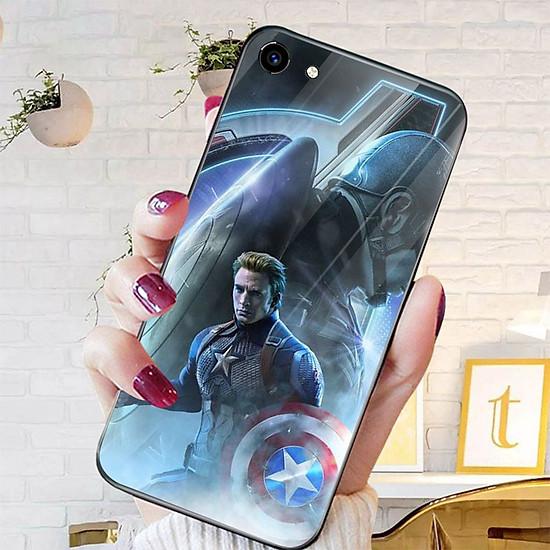 Thumb của hình Ốp kính cường lực dành cho điện thoại Oppo F1S/A59 - A71 - A83/A1 - F3/A77 - avengers siêu anh hùng marvel - sah021