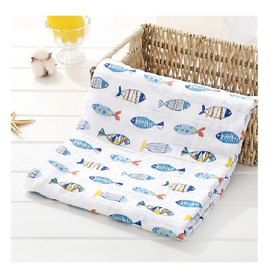 Set 2 khăn tắm xô cho bé (kt 120x120cm)