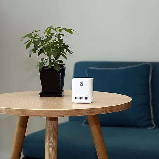Máy lọc không khí Xiaomi Mini xúc tác quang formaldehyde Sạc USB không dây phù hợp white-5