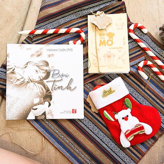 Combo Thơ Bội Tình + Quà tặng Giáng Sinh (Sổ tay, vớ)