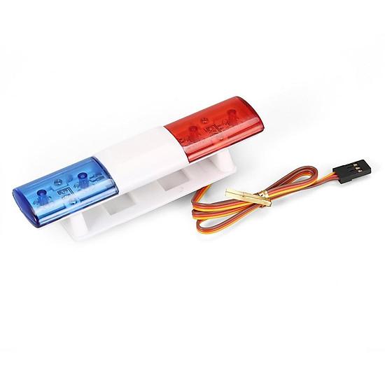 Car Accessories Ax - 501 Mc Red Blue Multi-Function Remote Control Car Lights