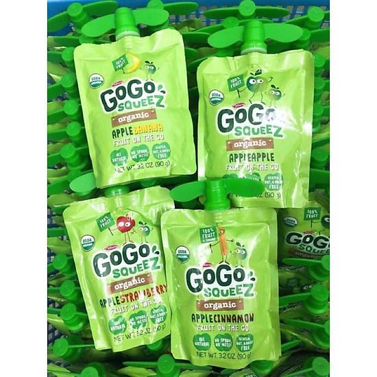 Táo Nghiền Organic GOGO SQUEEZ