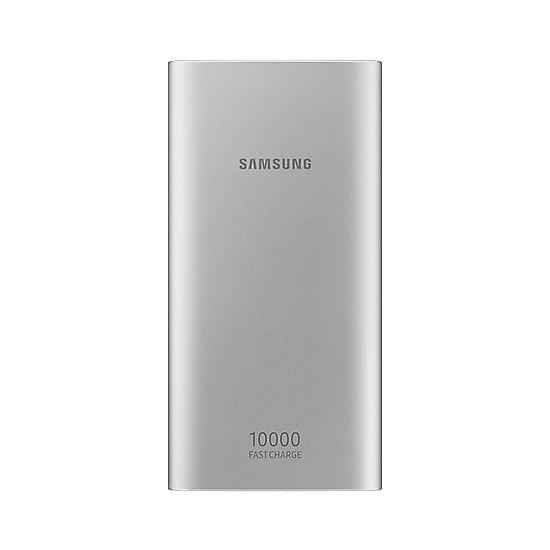 Pin dự phòng Samsung EB-P1100 10.000 Mah cổng USB-C- Chính hãng Tặng kèm cáp sạc micro - Bạc