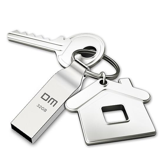 USB Kim Loại Chống Thấm Nước Có Móc Khóa DM 32G