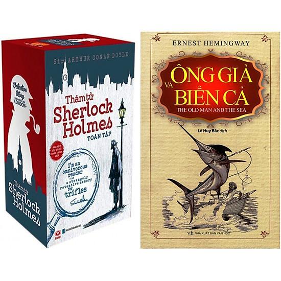 Combo Thám Tử Sherlock Holmes Toàn Tập (Trọn Bộ 3 Tập) + Ông Già Và Biển Cả