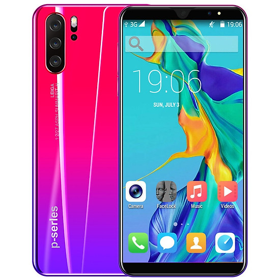 5.8Inches P33Pro Smart Mobile Phone 4G+64G Android 8.1 Air Distance Gesture Bluetooth 2.0 Phone - red - European regulations-0