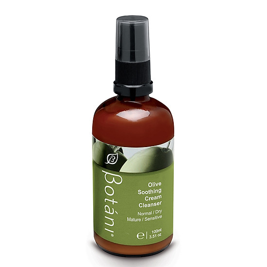 Kem Rửa Dịu Da Cho Mẹ Và Bé – Olive Soothing Cream Cleanser Botani BPSO002(100ml)