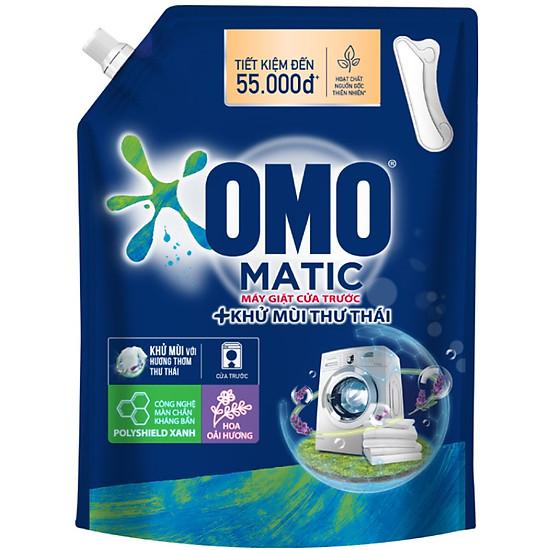 Túi nước giặt Omo matic cửa trước khử mùi thư thái 2.9kg-0
