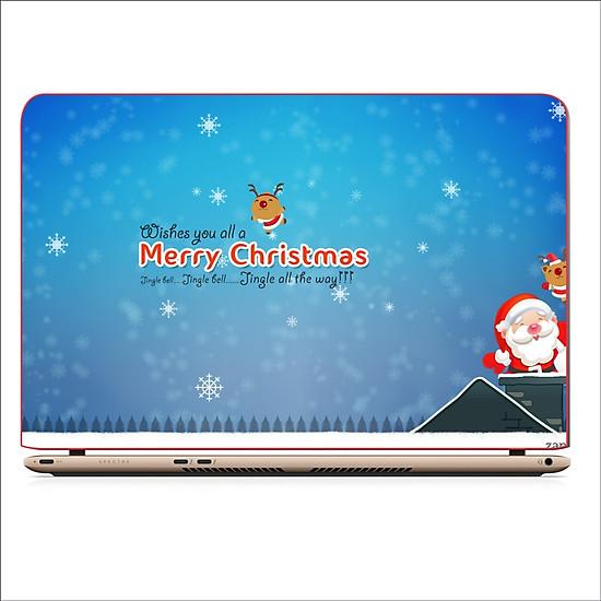Miếng Skin Dán Decal Laptop Giáng Sinh 2019 – Mã: DCLTGS 006