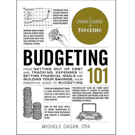 Hình đại diện sản phẩm Budgeting 101: From Getting Out of Debt and Tracking Expenses to Setting Financial Goals and Building Your Savings, Your Essential Guide to Budgeting (Adams 101)