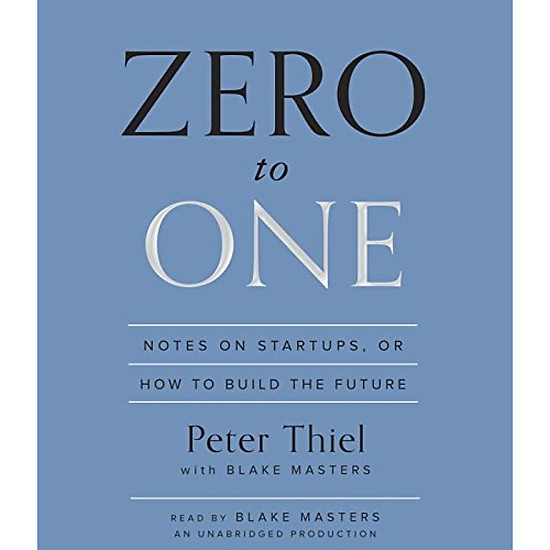 Hình đại diện sản phẩm Zero to One: Notes on Startups or How to Build