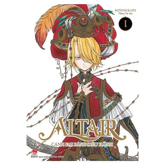 Altair - Cánh Đại Bàng Kiêu Hãnh - Tập 1 (Tặng Kèm Poster)