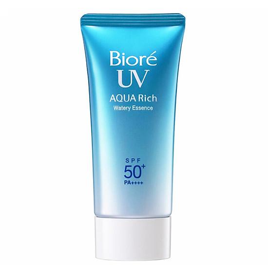 Kem chống nắng Biore Aqua Rich Watery Essence SPF 50+/ PA ++++ tuýp 50ml