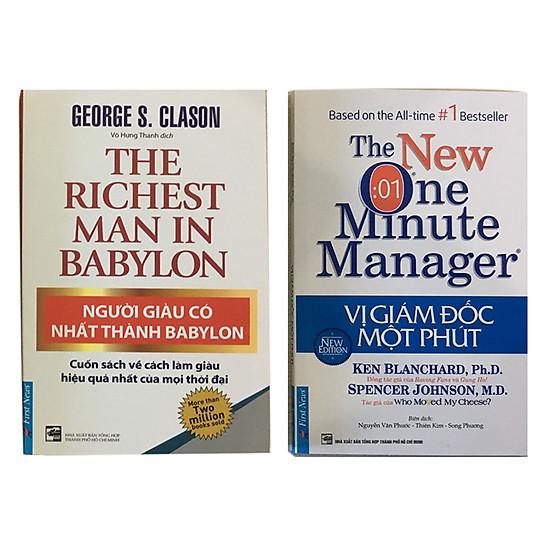 Combo Người Giàu Có Nhất Thành Babylon (Tái Bản) & Vị Giám Đốc Một Phút (Tái bản)