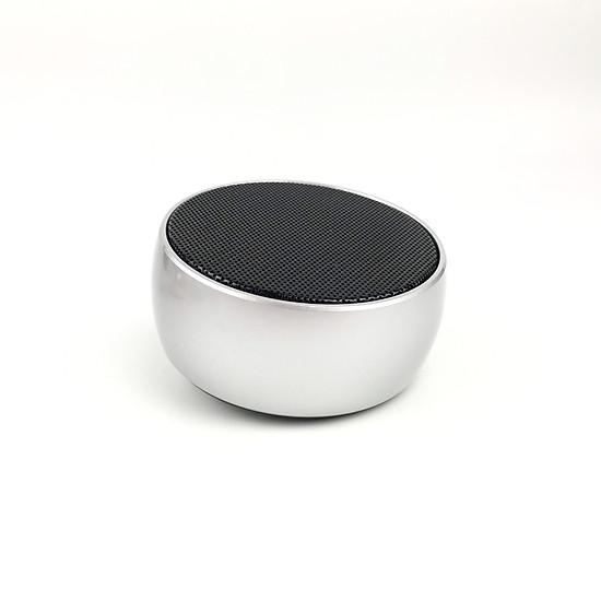 Loa Bluetooth Cầm Tay Mini GUTEK BS-01 Vỏ Kim Loại, Nghe Nhạc Cực Hay, Hỗ Trợ Kết Nối Thẻ Nhớ Tf Và Cổng 3.5 - Hàng Chính Hãng - Bạc-1