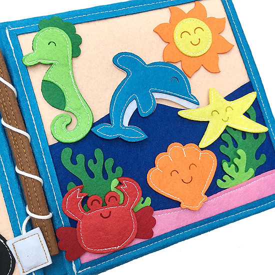 Sách Vải Đại Dương - Dành Cho Bé Từ 1-6 Tuổi