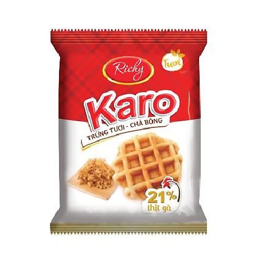 Bánh tươi Karo Richy Bịch 24 chiếc (26g/chiếc)-3