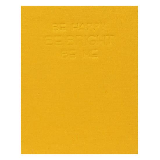 Journal Photostory 140 Trang Bìa Vải Tk 06 Màu Vàng Nhạt