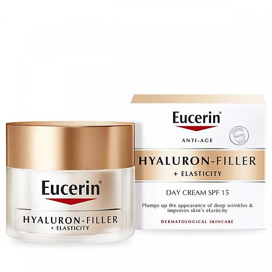 Image result for Kem dưỡng ban đêm Eucerin Hyaluron Filler + Elasticity Night orchard