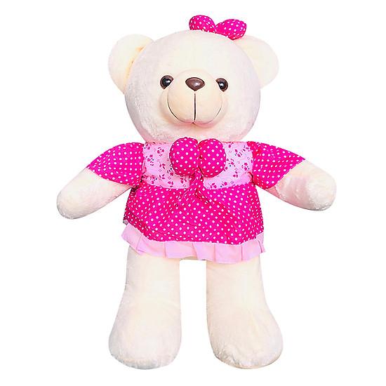 Gấu Bông Mặc Váy Hoa Ichigo (70cm)