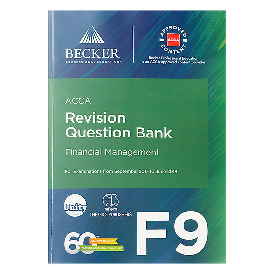Sách ACCA Revision Question Bank F9 Financial Management