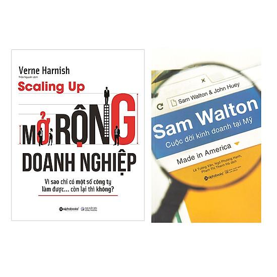 Combo Sách Kinh Doanh :  Sam Walton - Cuộc Đời Kinh Doanh Tại Mỹ + Scaling up - Mở Rộng Doanh Nghiệp