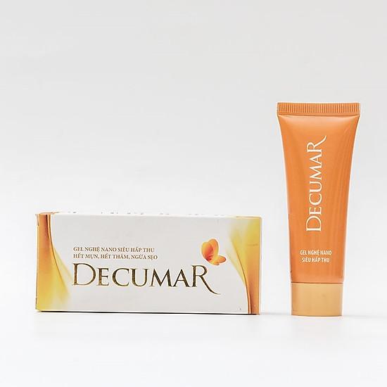 Combo trị mụn Decumar (gồm 01 Gel trị mụn Decumar 20g, 01 Gel rửa mặt ngừa mụn Decumar Clean 100g)