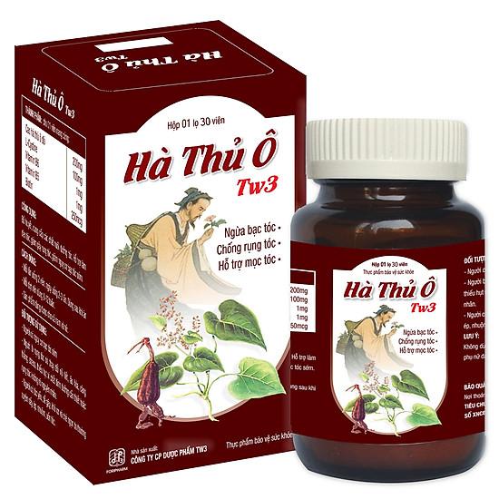 Hà Thủ Ô TW3 Ngăn Ngừa Rụng Tóc, Bạc Tóc