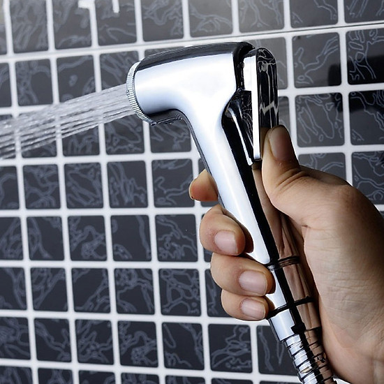 Thumb của hình Washing Nozzle Shower Head Durable Plating Silver Watering Flowers Shower Room