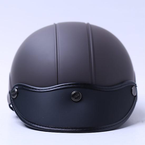 Mũ Bảo Hiểm 1/2 Chita (Size L) - Socola Sơn Mờ=144.000 ₫