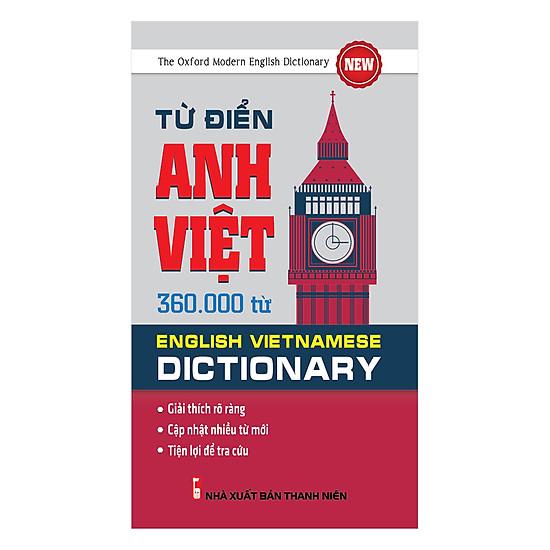 Từ Điển Anh Việt 360.000 Từ = 69.550 ₫