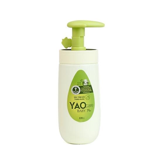 Gel tắm gội thảo dược Yaocare baby plus cho bé