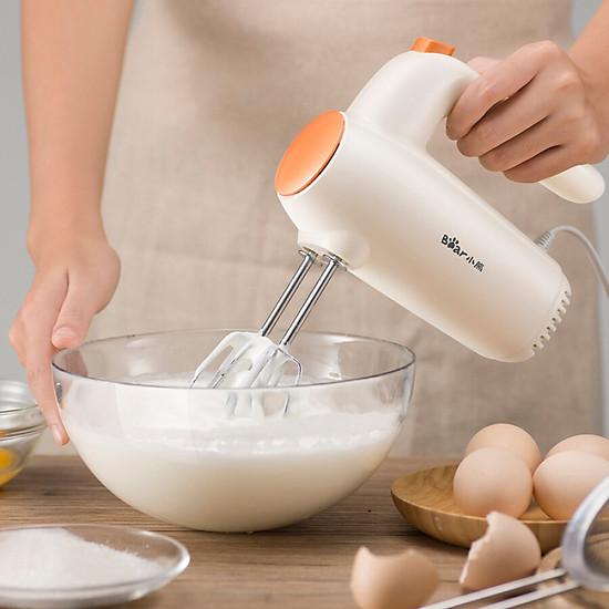Máy Đánh Trứng Cầm Tay Mini Bear DDQ-B01K1 - Màu trắng -3