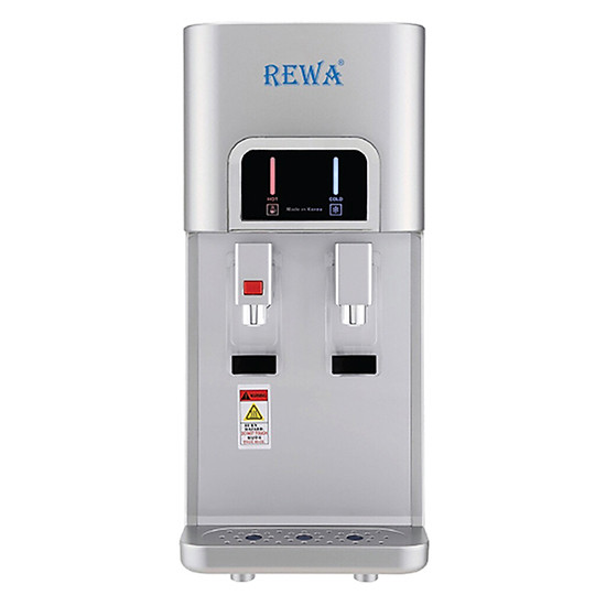 Máy Lọc Nước Nóng Lạnh Để Bàn Hàn Quốc Rewa RW-NA-218.Silver