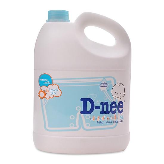 Nước giặt xả quần áo D-nee (Xanh dương) 3000ml