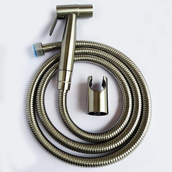 Hình đại diện sản phẩm Vòi xịt vệ sinh inox - Vòi xịt bồn cầu inox SUS 304 cao cấp